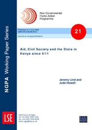 Aid, civil society and the state in Kenya since 9/11 - LSE ...