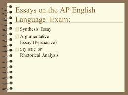 writing an inclass essay ap language essays on the ap english  essays on the ap english language examsynthesis essayargumentative essay persuasive