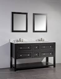 legion 60 inch single sink bathroom vanity set espresso finish