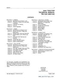 john deere 2940 tractor tm1220 technical manual pdf repair manual repair manual john deere 2940 tractor tm1220 technical manual pdf 1 enlarge repair manual john deere 2940