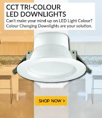 colour changing led downlights
