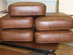 leather cushion cores
