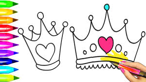 Small Picture Princess Tiara Crown Coloring Pages Colouring for Kids with