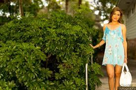 Blue Satin Slip Romper Liv s Lookbook Lifestyle and Fashion Blog