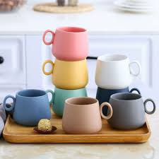 Check out our bulk coffee mugs selection for the very best in unique or custom, handmade pieces from our mugs shops. Wholesale Bulk Matte Frosted Ceramic Reusable Coffee Mugs Printed Cup Price Wholesale Drinkware Products On Tradees Com