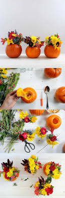 DIY Mini Pumpkin Vase for Fall. Pumpkin CenterpiecesFall Lantern  CenterpiecesThanksgiving ...