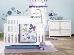 purple girl crib bedding set