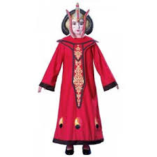 Details About Queen Amidala Padme Costume Star Wars Halloween Fancy Dress