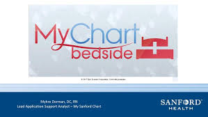 My Sanford Chart Login Leveraging Technology To Enhance The Patient Experience