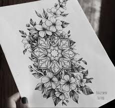 татуировки мандала фото и значение