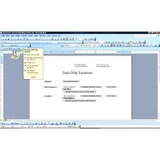 resume wizard word resume wizard word zone how to open resume wizard in word  2007