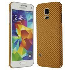samsung galaxy s5 gold. samsung galaxy s5 mini gold carbon fiber skin protector
