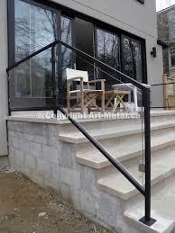 aluminum stair handrails exterior. exterior railing(#130) aluminum stair handrails