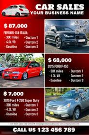 Sales Flyers Templates Car Sales Flyer Ohye Mcpgroup Co
