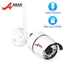 ANRAN 1080 P IP Kamera Wifi Açık Su Geçirmez HD Güvenlik Kamera Ses Kayıt  Kablosuz Gözetim Kamera Dahili SD Kart Yuvası Www3.shadesemporiumblog.com