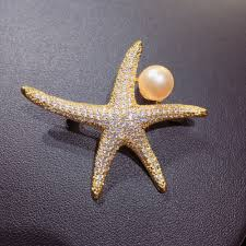 <b>ZHBORUINI</b> High Quality Natural Freshwater <b>Pearl Brooch</b> Fine ...