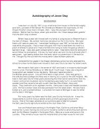 autobiography assignment autobiography essay samples