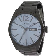 guess men s w10603g1 overdrive white chronograph watch guess blue and black stainless steel men s watch