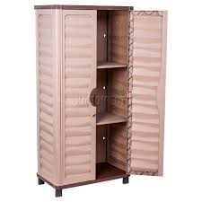 plastic outdoor storage cabinet. Delighful Plastic Starplast Outdoor Plastic Garden Utility Cabinet With 2 Shelves Ideas Of  Storage And