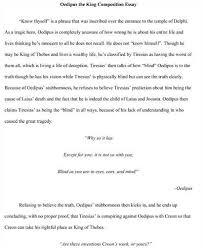 sofokles kung oedipus analysis essay dissertation methodology  custom oedipus the king by sophocles essay