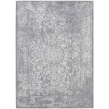 safavieh evoke silver ivory 8 ft x 10 ft area rug