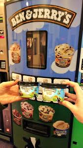 Ben And Jerry's Vending Machine Awesome Siobhan McDermott On Twitter The Lifts Are Just By The Ben