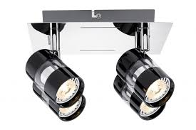 <b>60189</b> Светильник SL <b>Nevo</b> LED Rondell 4x3,5W GU10 Sz/Chr