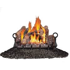 vent free propane gas log set
