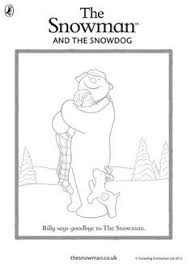 Small Picture Coloring Sheets for The Snowman by Raymond Briggs Kids Place