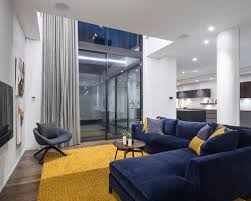 Fair Blue And Yellow Living Room Fancy Interior Design Ideas For Home Design