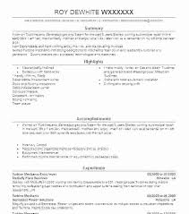 Sample Mechanic Resume Cover Letter Sample Resume For Mechanic