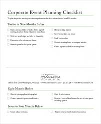 Download Free 8 Free Event Planning Checklist Template Excel