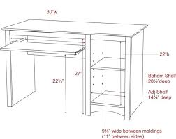 um image for standard office desk height us standard office desk height cm large size of
