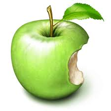 green apple clipart png. green apple with bite icon, png clipart image clipart png