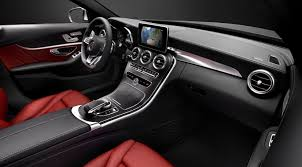 mercedes c class 2016 interior images and technology revealed 5