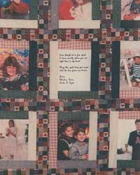 Memory Quilt Patterns Awesome Photo Memory Quilt