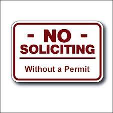 Solicitors require permits in WBT, some exceptions - General Police  Information - West Brandywine Township, Pennsylvania