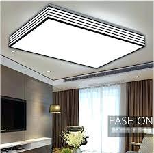 kitchen lighting led. Rectangular Kitchen Light Led Acrylic Black And White Ceiling Lights Bedroom Living Lighting Ideas