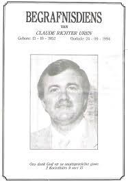 UREN-Claude-Richter-1952-1994 ( U-Surnames---Vanne-U / UREN ...