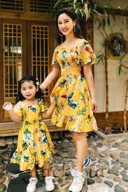 Mẫu thời trang đôi Jackilia cho mẹ và bé yêu xuống phố - Jackilia