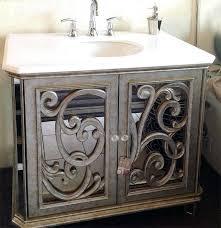 mirrored vanities for bathroom antiqued mirrored bathroom vanity inside idea 0 mirrored bathroom vanity cabinet