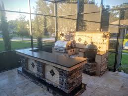 Granite For Outdoor Kitchen Backsplash Creative Outdoor Kitchens