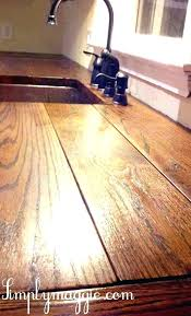 v home improvement best sealer for wood countertops