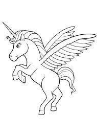 Cute Pegasus Coloring Pages Coloringstar