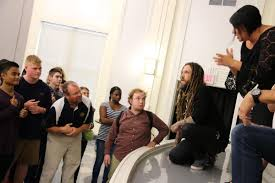 Brian Head Welch Into The Light The Testimony Famous Guitarist From Korn Visits Deaf School To Share