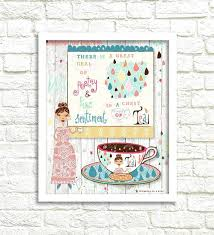 whimsical wall art pretty art print tea print pretty whimsical wall art on canvas whimsical wall on whimsical wall art on canvas with whimsical wall art satalog
