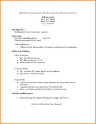 College Graduate Resume Samples college student resume sample no experience Alannoscrapleftbehindco 43