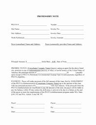 Luxury Free Promissory Note Template Pdf Audiopinions