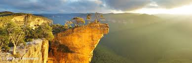 australia hanging rock blue mountains new south wales australia