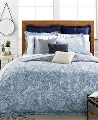 Paisley Bedroom Tommy Hilfiger Canyon Paisley Comforter And Duvet Cover Sets